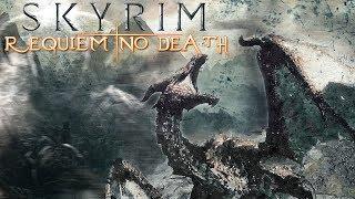 Skyrim Requiem (No Death) #28 Альтмер-вампиресса : Этериевый Сэт (Двемерский Экзоскелет)