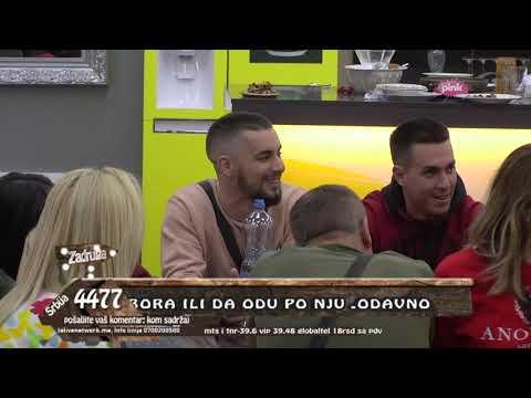 Zadruga 3 - Matora priznala da bi bila sa Kandićem da nije sa Sanjom - 14.10.2019.