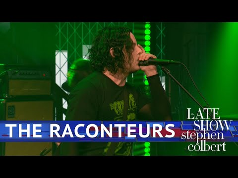 The Raconteurs Perform 'Bored And Razed' - The Late Show With Stephen Colbert