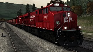 Train Simulator 2019 | GE ES44AC Canadian Pacific | Canadian Mountain Passese | Let's Play HD