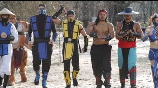 Mortal Kombat VS Street Fighter: EPIC DANCE BATTLE!!