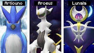 Articuno  - (Pokémon) - Minecraft Pokémon #47: 3 LENDÁRIOS EM UM SÓ VÍDEO! (ARCEUS, ARTICUNO E LUNALA)
