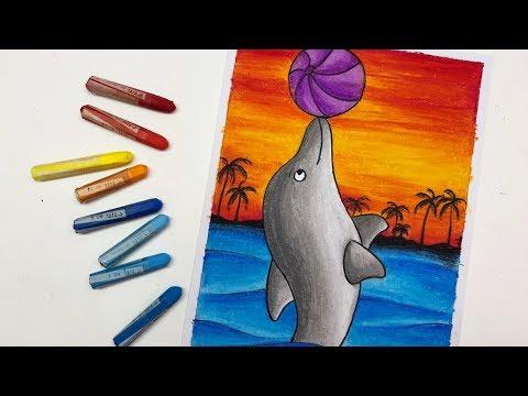 Mewarnai Ikan Dengan Crayon смотреть онлайн на Hahlife