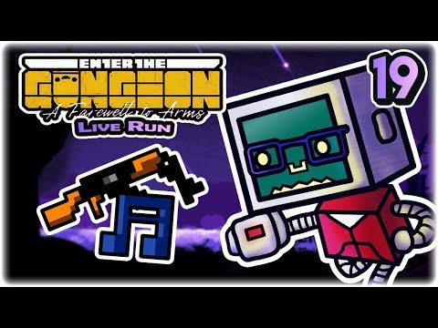 JK-47, But OP | Part 19 | Let's Play: Enter the Gungeon: A Farewell to Arms | Twitch VoD