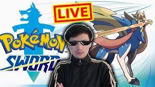 秀康直播~9:10分開始~巨大化好玩【寶可夢 劍(Pokémon Sword)】#1