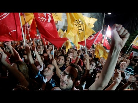 Η συγκέντρωση της ΛΑΕ στην Αθήνα με την κάμερα του ΑΠΕ-ΜΠΕ