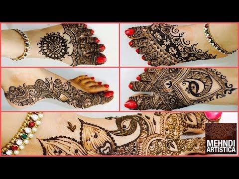 Five Star Henna Mehndi Designs For Karwa Chauth | Mind Blowing Dulhan Shagun Henna Mehendi
