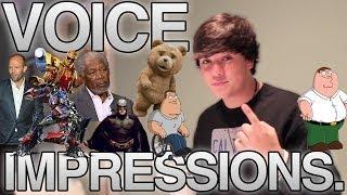 JAKE FOUSHEE DOES VOICE IMPRESSIONS