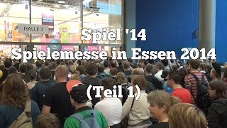 preview picture of video 'Highlights der Spielemesse 2014 in Essen - Teil 1 (Internationale Spieltage): Spiele-Podcast'