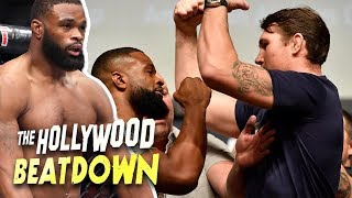 Tyron Woodley Stormed Out Of UFC 227, Can't Stand Darren Till | The Hollywood Beatdown