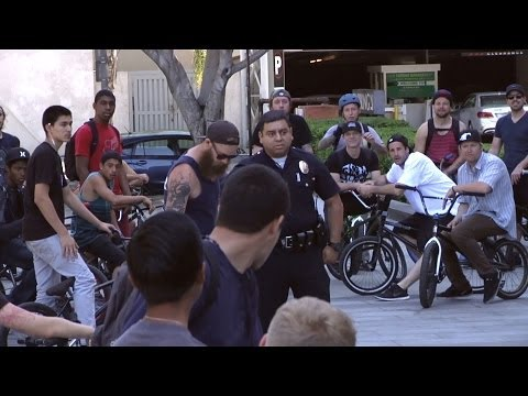 BMX: LA Street Ride With Animal