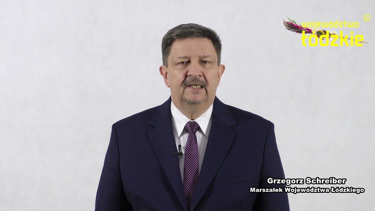 Życzenia wielkanocne Marszałka Grzegorza Schreibera