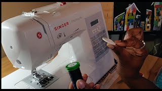 How to start/thread your SINGER PATCHWORK 7285Q sewing machine
