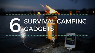 Top 6 Survival Camping Gadgets You Should Have 2017