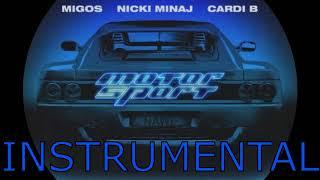 Migos   MotorSport Ft. Nicki Minaj, Cardi B (Instrumental Remake)