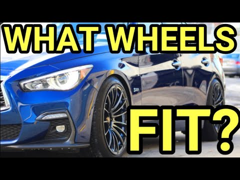INFINITI Q50 WHEEL FITMENT GUIDE