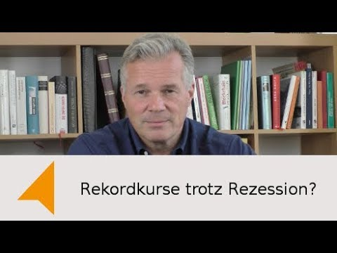 Video - Rekordkurse trotz Rezession?