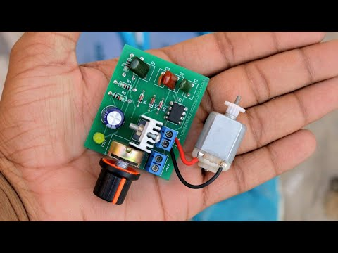 How To Make DC Motor Speed Controller - Awesome ideas