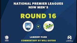 NPL NSW, Round 16, Sydney FC V Mt Druitt Town Rangers FC #NPLNSW