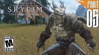 【SKYRIM 200+ MODS】Argonian Gameplay Walkthrough Part 5 [PC - HD]