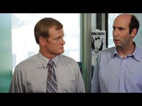 5minutová komediální hodinka Jeffa Lewise #10 Kancelář