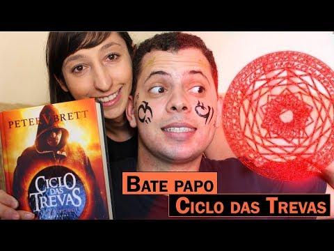 BATE PAPO - CICLO DAS TREVAS (Peter V Brett) | Alegria Literária
