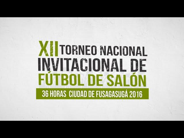 XII Torneo Nacional Invitacional de Fútbol de Salón Fusagasugá