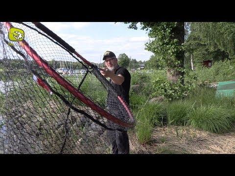 Kescher-Tipp zum Hechtangeln: Der Magnum Scoop von Iron Claw. Gummierter Raubfischkescher