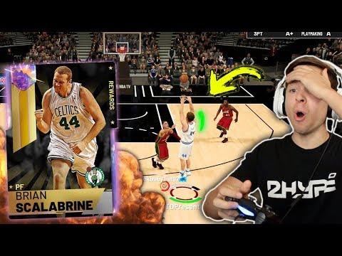 GALAXY OPAL BRIAN SCALABRINE IS AMAZING! THE GOAT! NBA 2K19