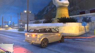 GTA V - How to find a semi truck (GTA ONLINE)