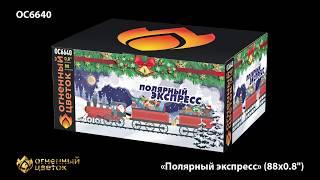 """Салют """"Полярный экспресс"""" ОС6640 (0,8"""" х 88) от компании Интернет-магазин SalutMARI - видео"""