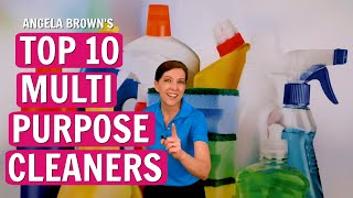 Angela Brown's Top 10 Multi Purpose Cleaners