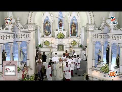 Transmissão da 9ª noite de novena da festa de São João Batista 2021 em Apodi