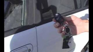 Unlock car with cell phone
