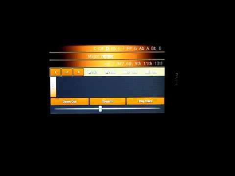 A Chord Finder Full Guitar Chord App On My Blade