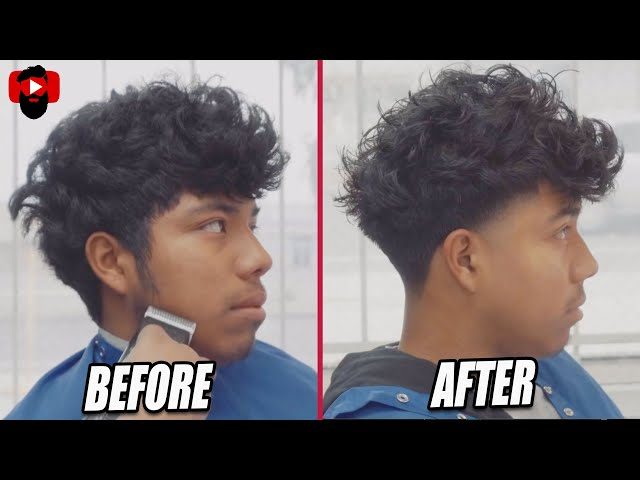 High Taper Fade Long On Top Scissor Work Richie The Barber