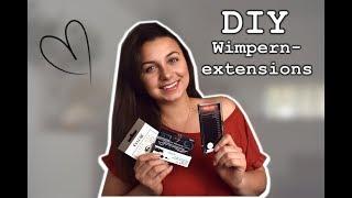 DIY Wimpern-Extensions // Ist das alleine machbar?!