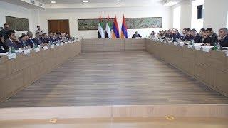 Первое заседание межправительственной комиссии Армения-ОАЭ в Ереване.