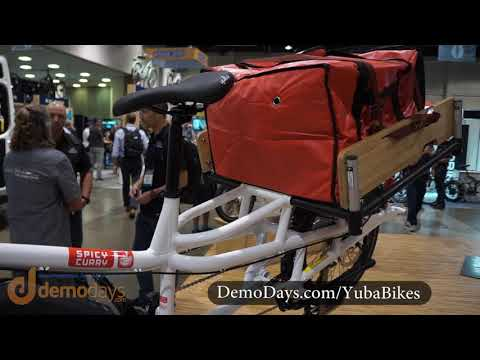 Yuba Bikes Spicy Curry Cargo Bike with Bosch CX Motor