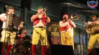 Bierkeller's in house Oompah band Bavarian Stompers @ Etihad Stadium!