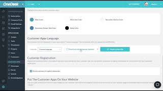 Translating or Changing the Language & Terminology on your Customer Apps