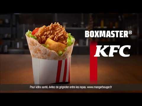 Musique pub KFC Le Boxmaster c'est comme un warp    juillet 2021
