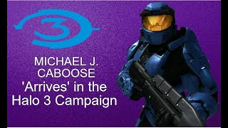 Caboose Visits the Halo 3 campaign