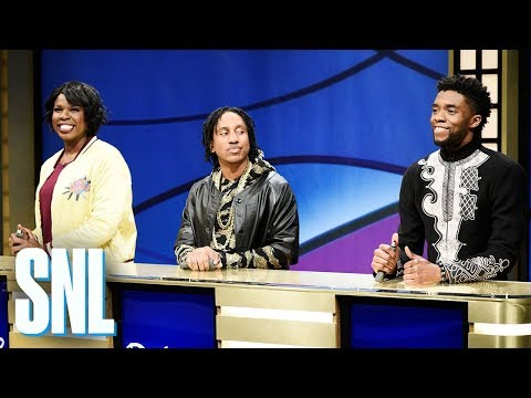 Black Jeopardy with Chadwick Boseman - SNL