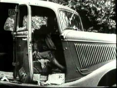 Rare Bonnie and Clyde film footage