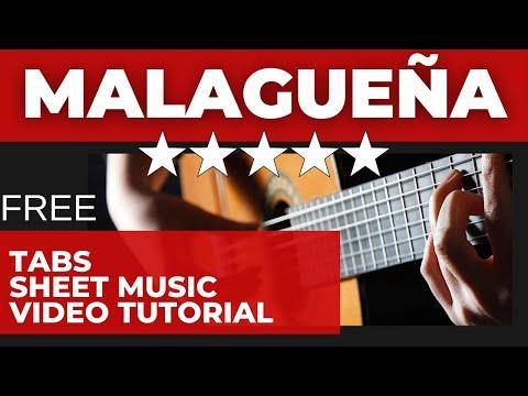 Malaguena - Classical Guitar Tutorial Part 1/7 - EliteGuitarist.com