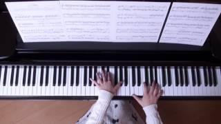 アシタカせっ記 ピアノ スタジオジブリ 『もののけ姫』 より (美しく響くピアノソロVer)
