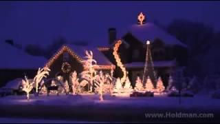 Disco Haus zu Weihnachten