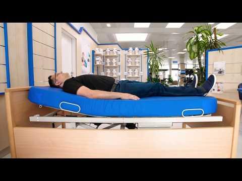AKS Betten-Einlegerahmen B4, elektrisch verstellbar, die Alternative zum Pflegebett