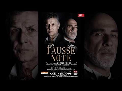 Bande Annonce de Fausse Note au Théâtre de la Contrescarpe  NOUVELLE VERSION ! NOUVELLE...